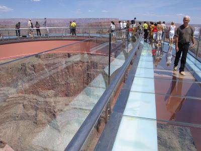 Grand Canyon Skywalk extends
